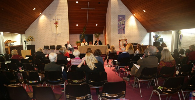 Candidates forum on human rights organised by Avalon Amnesty and the Avalon Baptist church