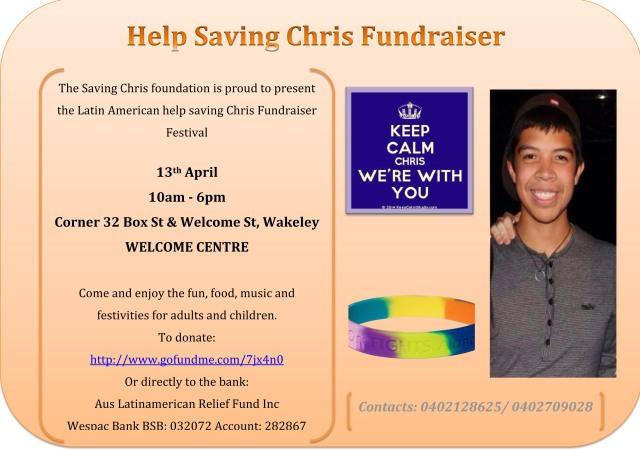 Saving Chrisfundraiser