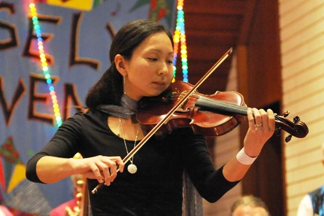 Violinist Kazu Milne